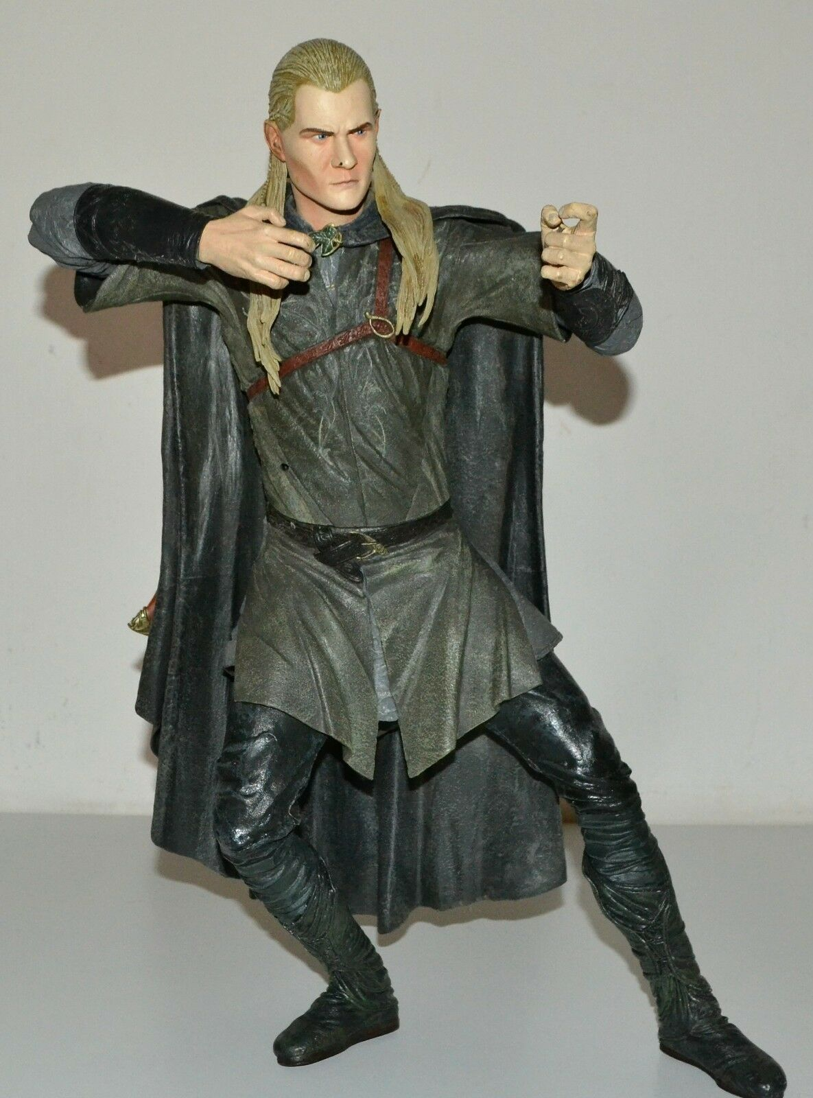 Modellino NECA 2004 LORD OF THE RINGS 18  TALKING LEGOLAS FIGURE NO WEAPONS