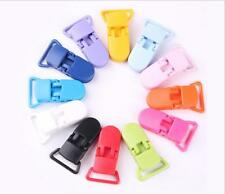 20pcs Colorful Resin T-Style Dummy Clips for Pacifier Holder Craft 39x16mm