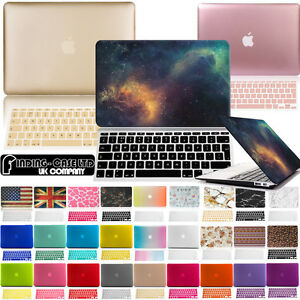 Rubberized-Case-Cover-with-Keyboard-Skin-for-Apple-MacBook-air-Pro-11-13-15-inch