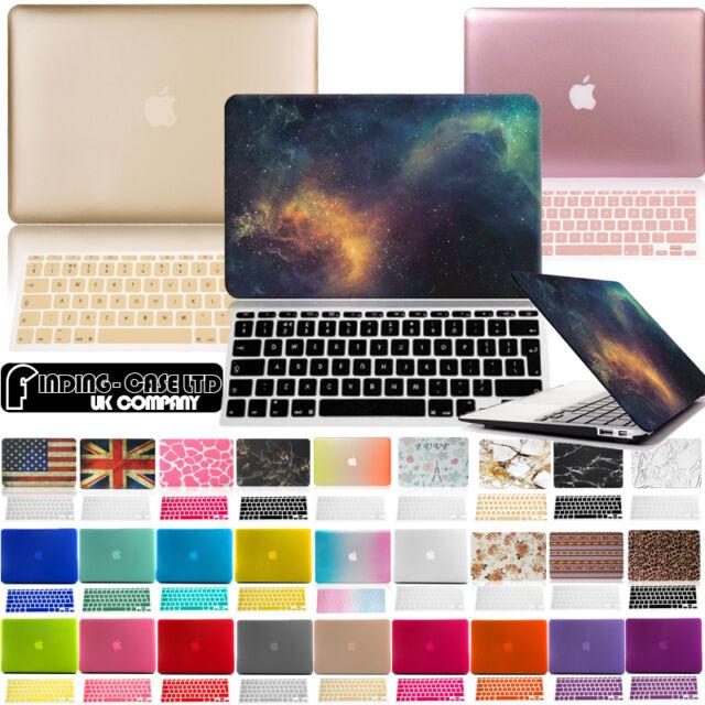 De Goma Funda Con Teclado Piel Para Apple Macbook Air Pro 11 13 15 Pulgadas
