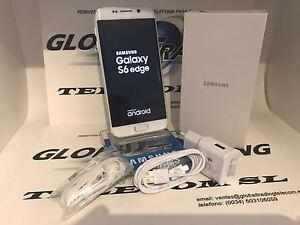TELEPHONE-SAMSUNG-GALAXY-S6-EDGE-SM-G925F-32GB-BLANC-PARFAIT-ETAT-QUALITE-A