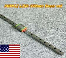 Mgn12h Linear Sliding Miniature Guide 250 550mm With 1pcs Block For Cnc Diy