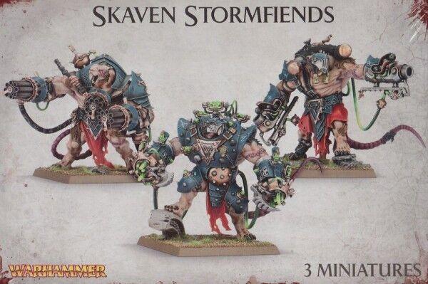 Skaven Stormfiends  giocos Officina Warhammer Age Of Sigmar  profitto zero
