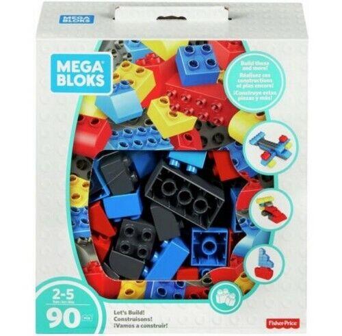 Mega Bloks Lets Build Dinos Building Set Mattel FFG27