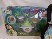 Disney Fairies Pixie Pals Tinkerbell Tea Party Set + Tinkerbell Purse
