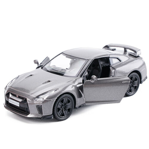 Model Cars 5 Inch Nissan GTR R35 1:36 Toys Collection Gift Alloy Diecast Silver
