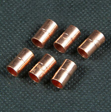 Muffe Lötfitting CU-Fittinge Kupfer 6mm / 6 Stück