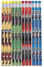 Marvel Heroes Avengers Assemble Pencils Birthday Party Favor Teacher Supplies 12