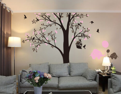 Wandtattoos Wandbilder Tree Spring Bird Forest Elephant Room Wall Stickers Vinly Decal Decor Uk Rui245 Mobel Wohnen Elin Pens Ac Id