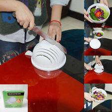 Salad Maker Bowl Cutter Slicer Easy to Make Salad Too in 60 second Great Slicers