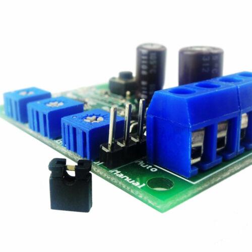 DC Motor Over Current Protection Device Current Limit Switch 6V 12V 24V 5A