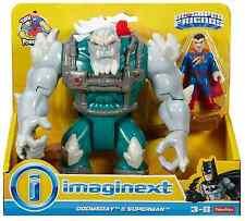 Imaginext BATMAN DC SUPER FRIENDS SUPERMAN DOOMSDAY & Figure