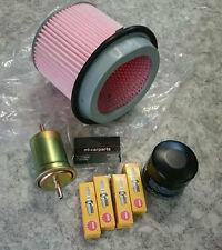 Inspektionspaket Filter Zündkerzen Wartungskit Kia Joice 2,0 88KW 102KW 2000-