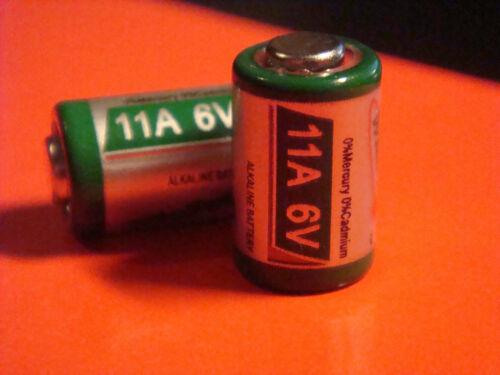 5 piles Batterie ALKALINE Telecommande 11A 6V MN11 L1016 AG11 A11 CX21A Chrono