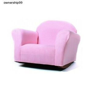 chair girls pink chairs bedroom playroom furniture toddler recliner