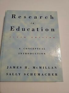 Research In Education Fifth Edition  by James H Mcmillan /B