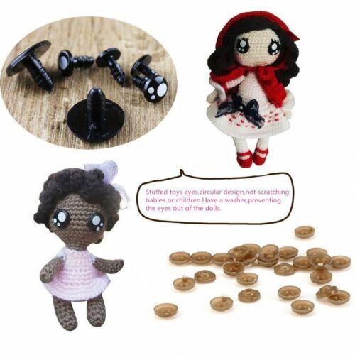Plush Toys Eyeballs Safety Eyes Crafts Dolls Stuffed Toy Accessories Doll Making