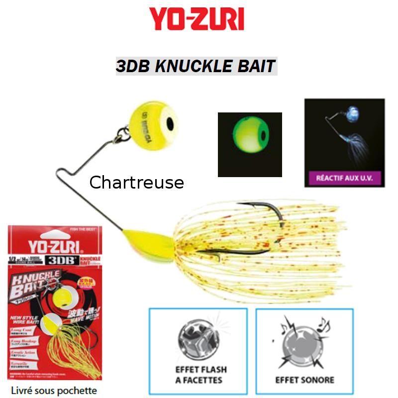 SpinnerBaits YO-ZURI 3DB 3DB 3DB KNUCKLE BAIT GOLDEN SHINER SHAD GIZZARD SHAD ... f6ba0f