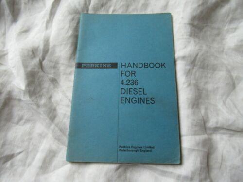 Perkins diesel engine 4.236 handbook service manual