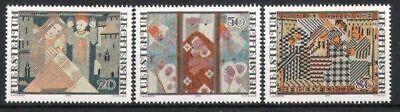 738/40 ** Weihnachten 1979 Postfrisch Ausdauernd Liechtenstein Nr