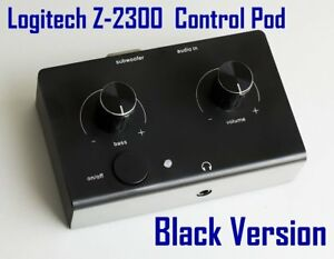 Logitech Z-2300 Computer Speakers Control Pod New Black Version Replacement 2300
