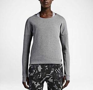 Nike Fleece Women's Sweatshirt685748 Crew Tech 091 fygvb7Y6