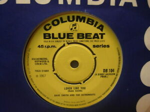 COLUMBIA-BLUE-BEAT-LOVER-LIKE-YOU-DAVE-SMITH-amp-THE-ASTRONAUTS-PROMO