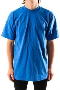 PRO-CLUB-TEE-SHIRT-ROYAL-BLUE-TALL-HEAVY-WEIGHT