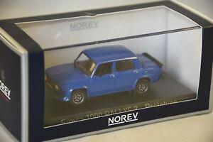 NOREV-571021-Simca-1000-Rallye-3-1978-Prototype-Talbot-Blue-1-43