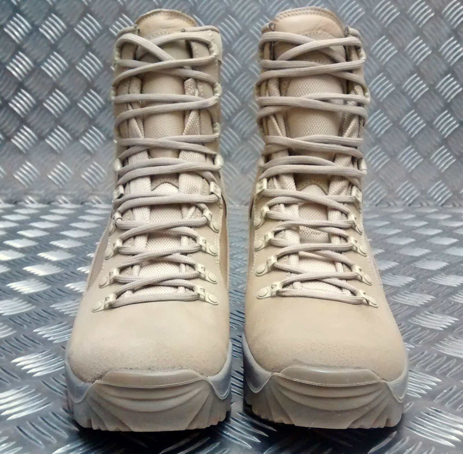 Genuine British Army Issue Meindl Desert Fox Assault Assault Assault / Patrol Combat botas SEL 2c2988
