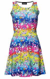 Colorful-Sea-Animals-Dolphin-Turtles-Fish-Shark-Penguin-Floral-Alternative-Dress