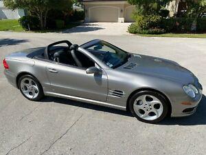 2005-Mercedes-Benz-SL-Class-SL500-35-SERVICE-RECORDS-RARE-TURBINE-WHEELS