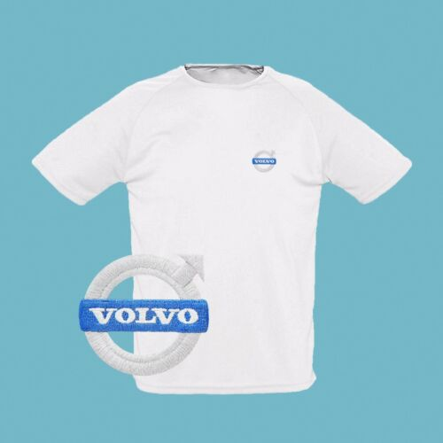 Volvo T Shirt EMBROIDERED Auto Car Logo Tee Sport Mens Clothing Accessories Gift