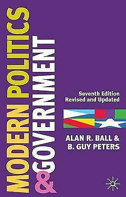 1 of 1 - Modern Politics and Government: Seventh Edition