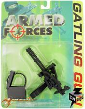 "InToyz Armed Forces 1/6 Scale Gatling Gun MiniGun for 12"" Action Figure"