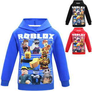 New Gifts Spring Autumn Fashion Casual Roblox Boys Long Sleeved T