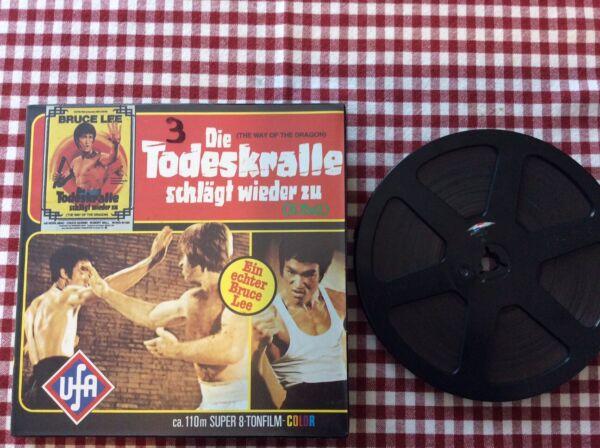 1 Films Super 8 Sonore Bruce Lee Langue Allemand