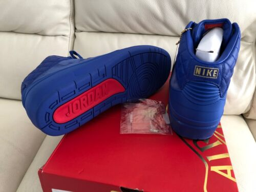 Retro Uk Us Air 11 Nuovo Don Nike Blue 2 Just Taglia 2015 10 Jordan xqITwaAwS