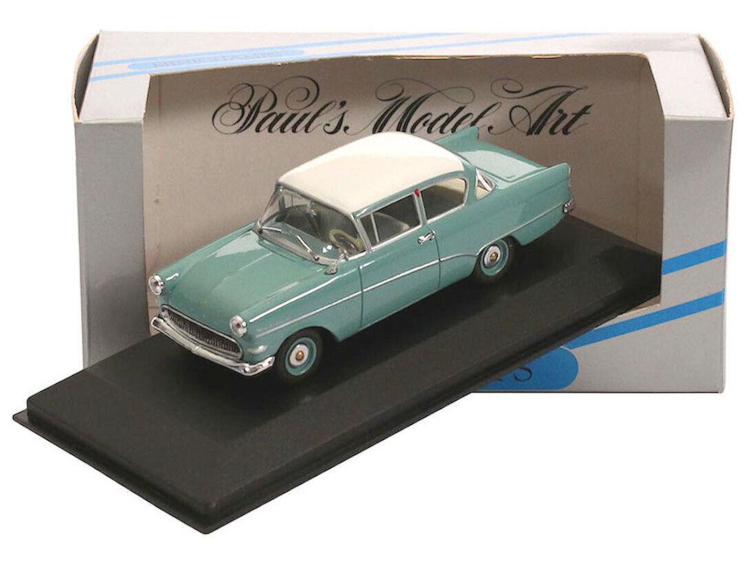 1 43 Minichamps - Opel Rekord P1 1957 - türkis weiss