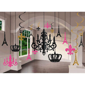 Day in paris glitter chandelier decoration kit wedding birthday image is loading day in paris glitter chandelier decoration kit wedding junglespirit Gallery
