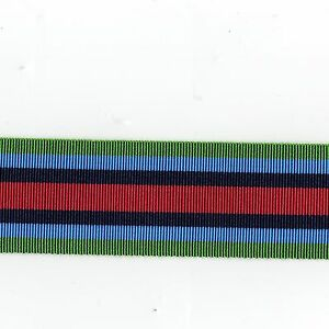 Medal-Ribbon-O-S-M-Sierra-Leone-Full-Size-Sold-in-6-inch-Lengths