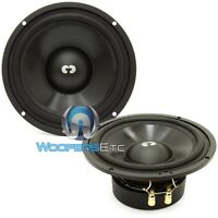 Cdt Audio Hd-6mdvc 6.5 70w Rms Dual Voice Coil Mid-bass Car Speakers Pair
