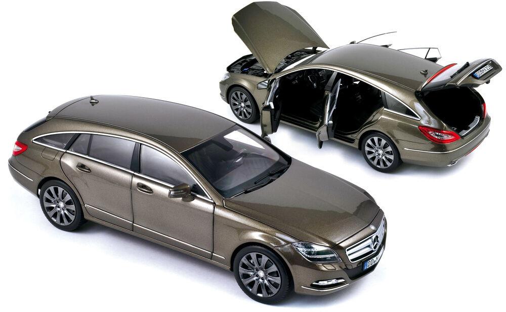 Mercedes Benz CLS 500 W218 IVORY METALIC 2012 Norev 1 18 183549