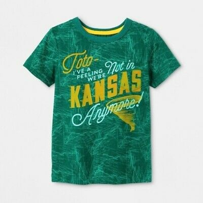 Size 2T  Toto I/'ve a feeling we/'re not in Kansas anymore T-shirt B130