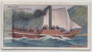 Paddle-Steamer-034-Comet-034-Commercial-Steamboat-Ship-Scotland-100-Y-O-Trade-Card