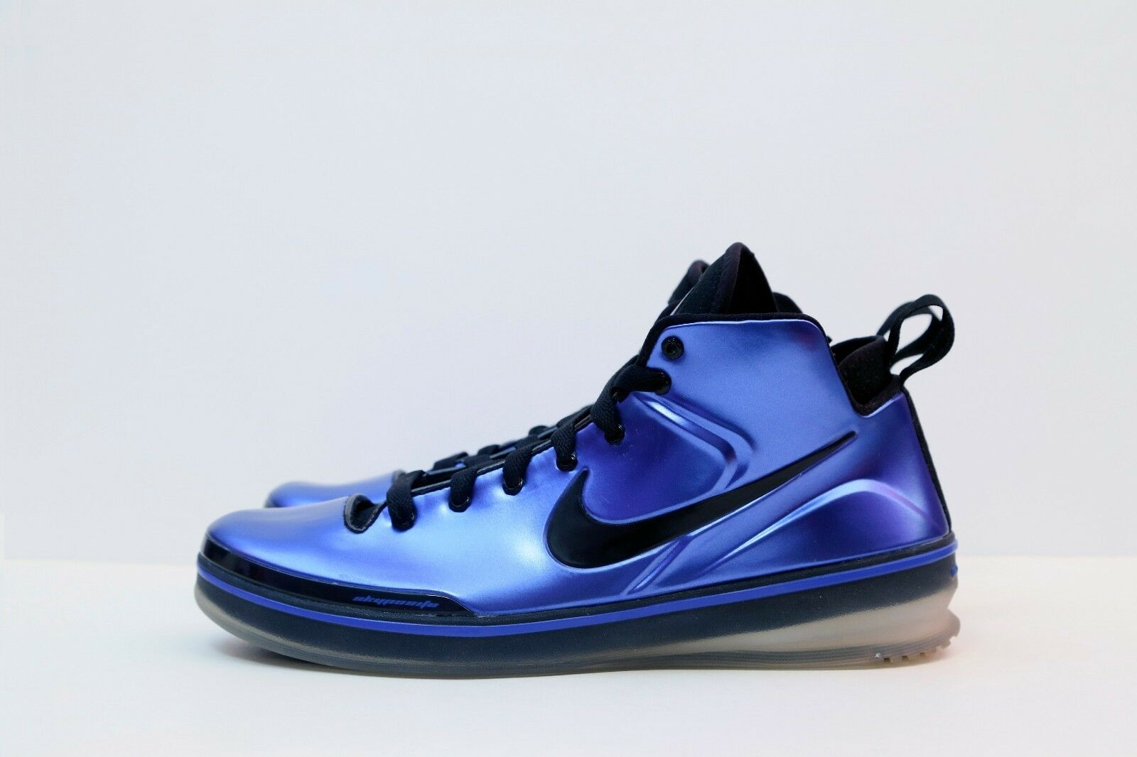 NEW - NIKE ZOOM SKYPOSITE 1- AIR FOAMPOSITE - 2010 VARSITY ROYAL - SZ 10