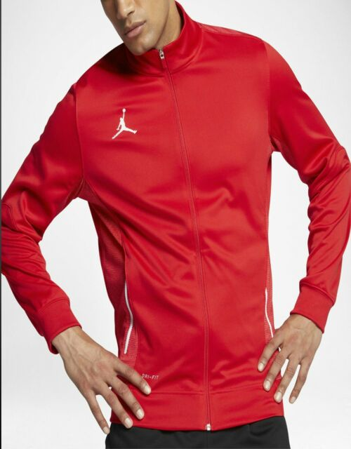 00930dfbf098 Nike Men s Size MEDIUM Jordan Flight Team Full Zip Basketball Jacket 696736  657