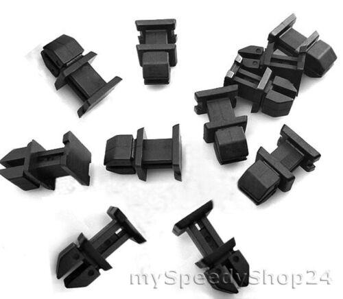 10x ladekante clôture Bord Coffre clips de fixation pour Mercedes