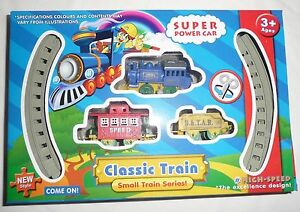 Wind-Up-TRAIN-with-Track-NEW-Kids-Toy