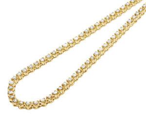 collier ras de cou or jaune et diamant